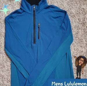 Mens Medium Long Sleeve 1/2 Zip pullover